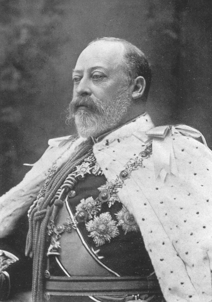 Könnig Edward VII, König von England