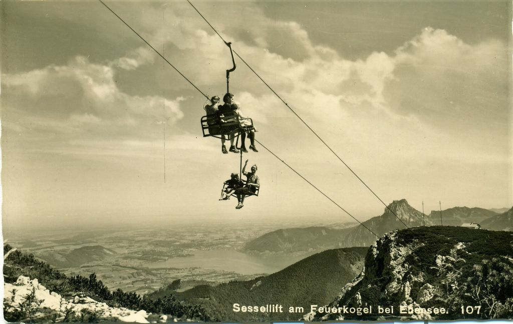 Sessellift am Feuerkogel 1952, Retzek