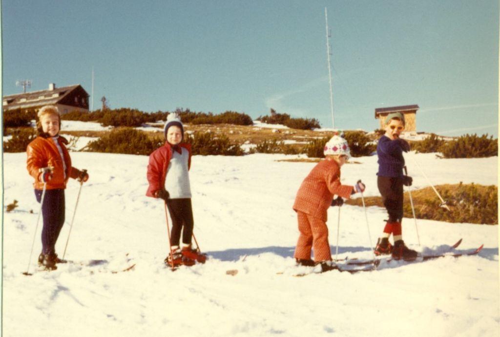 Skikurs am Feuerkogel