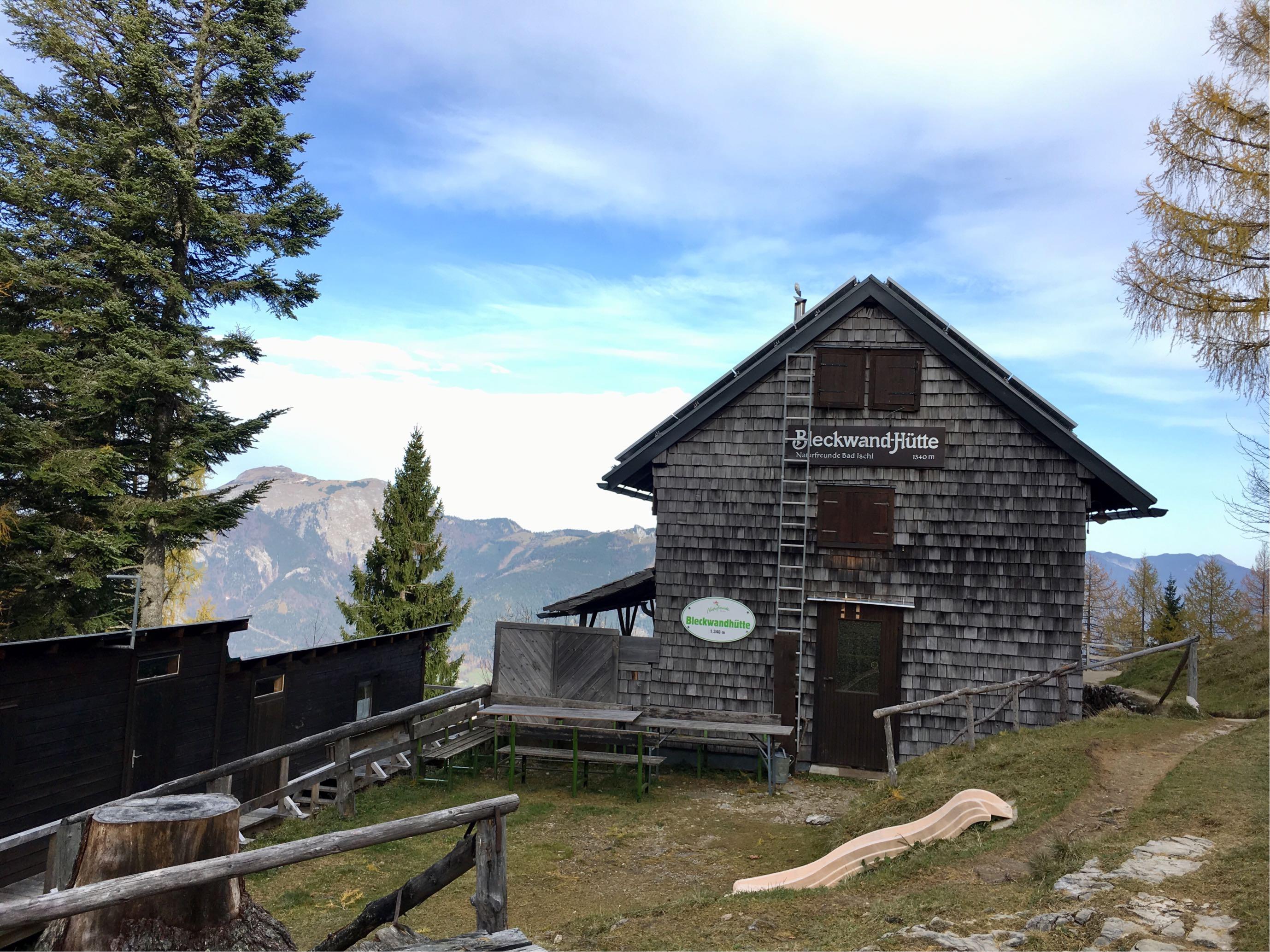 Die Bleckwandhütte