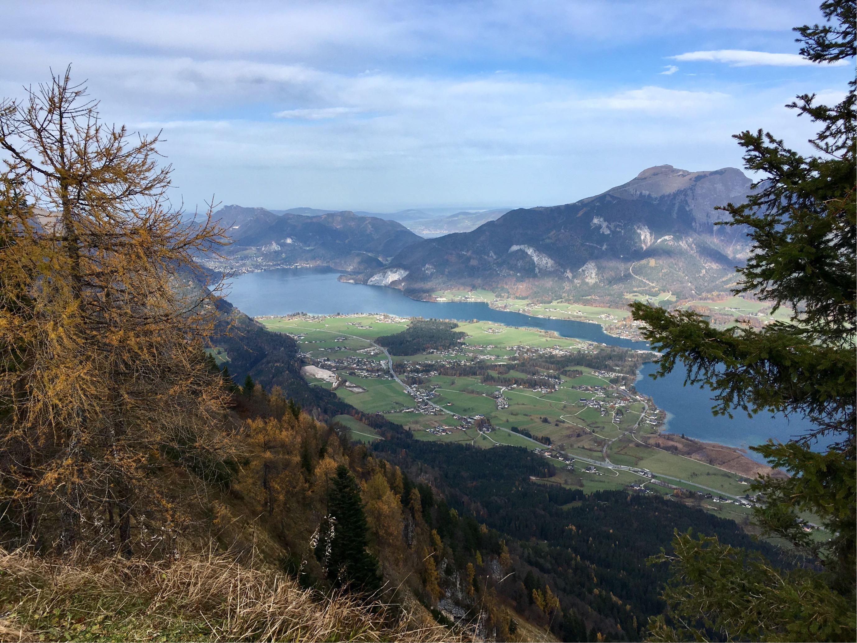 Wolfgangsee - Blick von der Bleckwandhütte