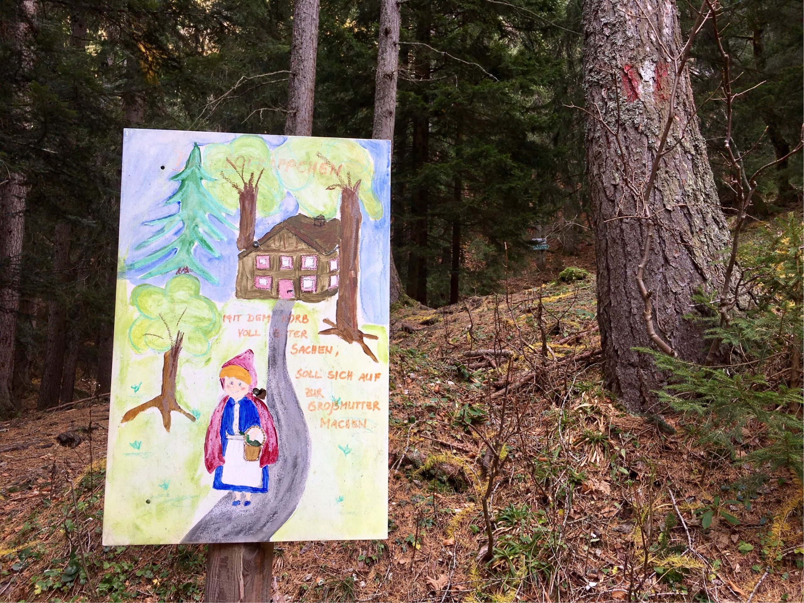 Märchenwanderweg auf die Bleckwandhütte