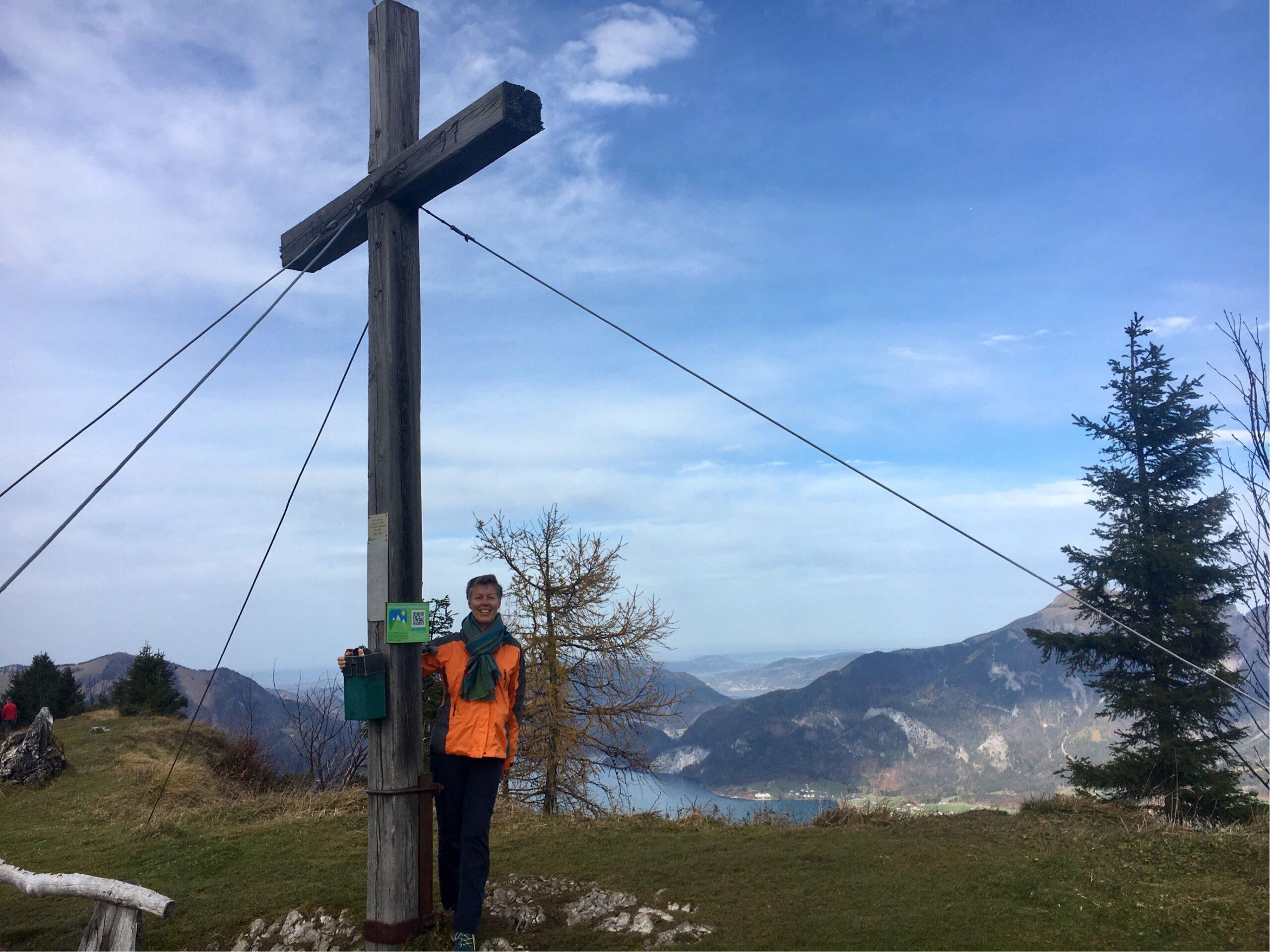 Gipfelkreuz auf der Bleckwand