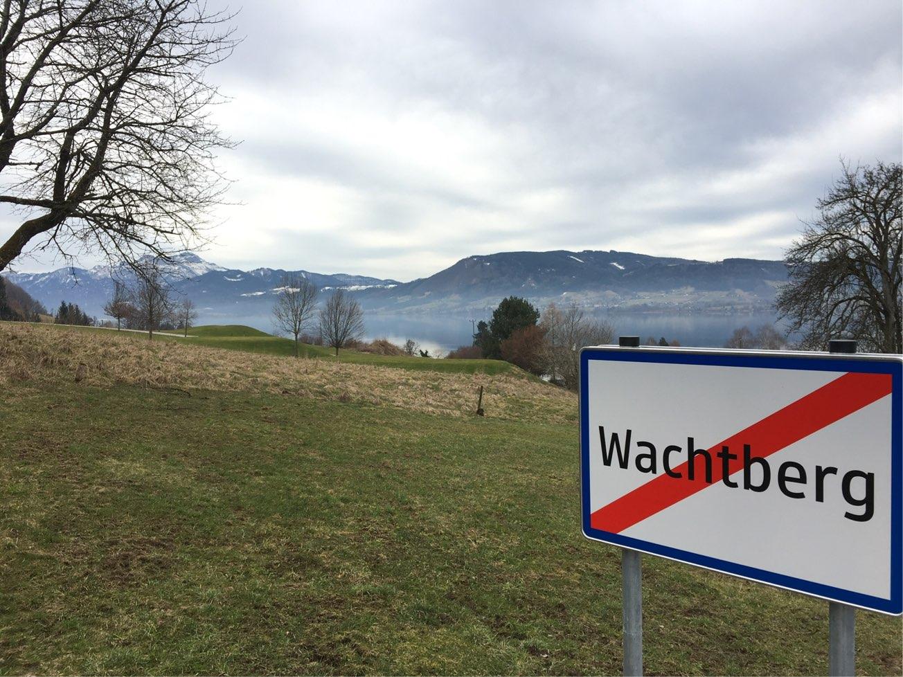 Jetzt gehts los: rund um den Wachtberg