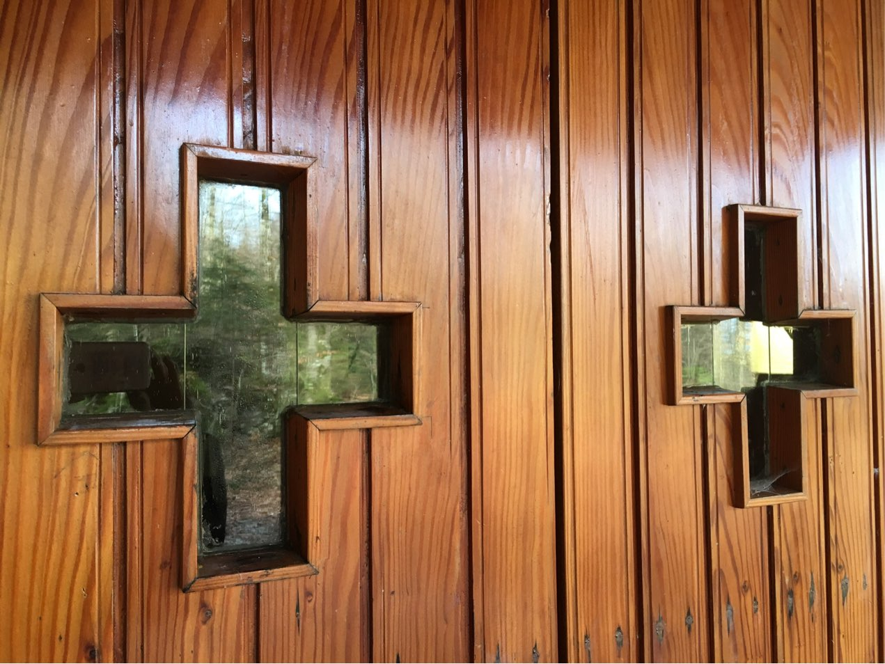 Der Eingang zur Kapelle
