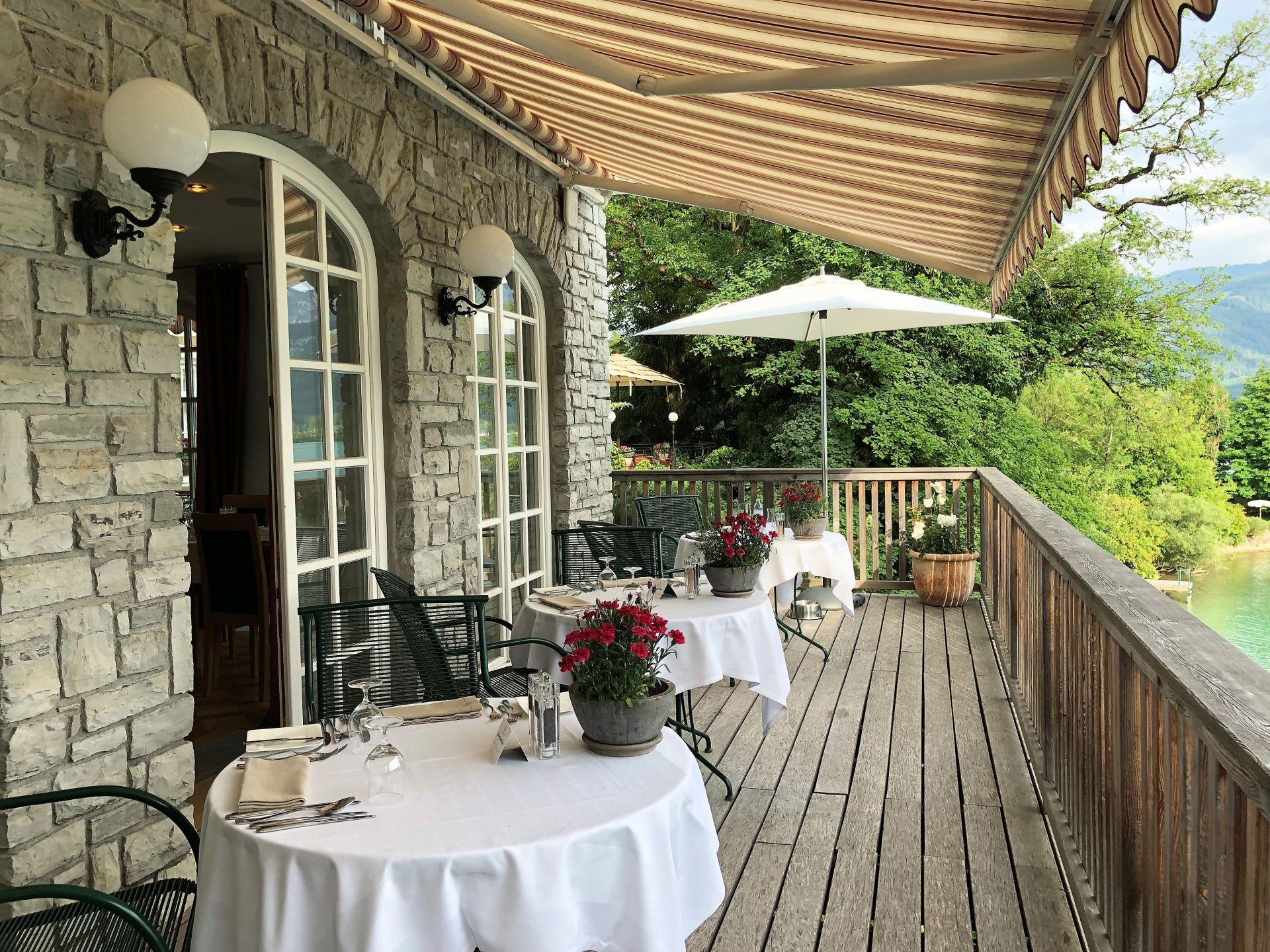 Terrasse Landhaus zu Appesbach