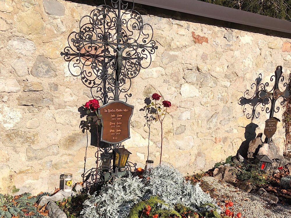 Am Friedhof in Altaussee