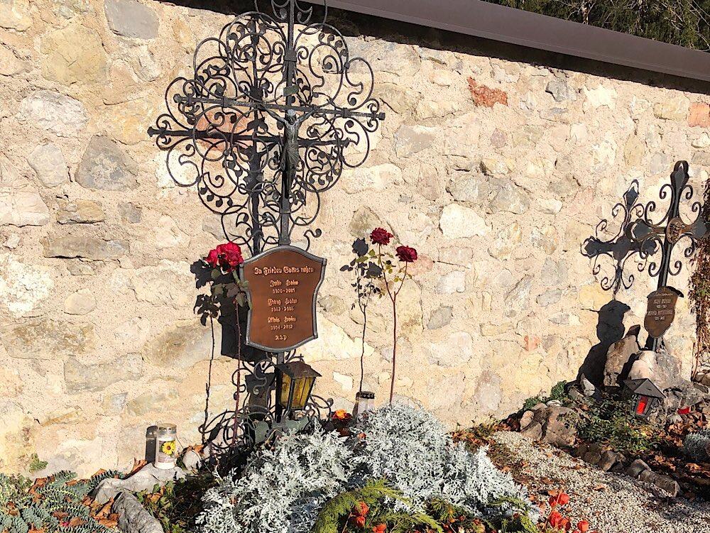 Am Friedhof in Altaussee