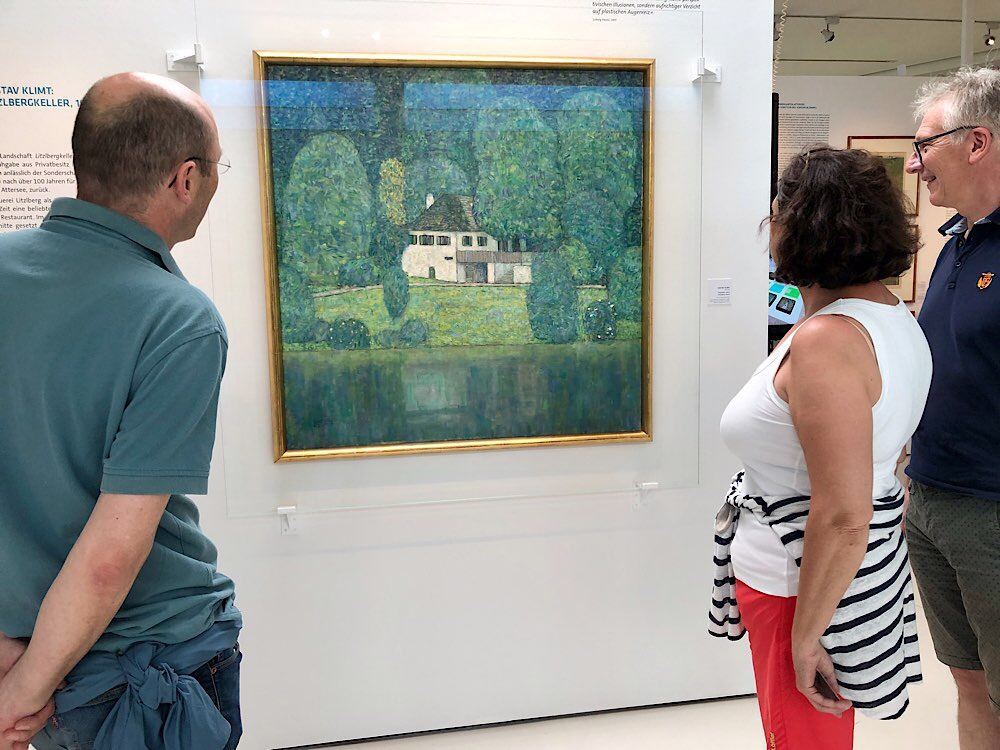"""Gustav Klimts """"Litzlberger Keller"""""""