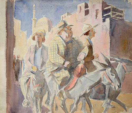Besuchertour in Kairo